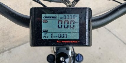 Rad Power Bikes Radcity Step Thru 3 Branded King Meter Lcd Display Panel With Usb Charging Port