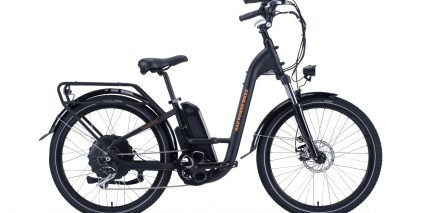 Rad Power Bikes Radcity Step Thru 3 Stock Black