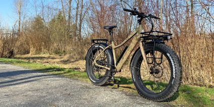 Surface 604 Boar Hunter Electric Fat Bike With High Speed Mode