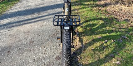Surface 604 Boar Hunter Front Rack With Basket And Spanninga Axendo 60 Headlight Two Beam