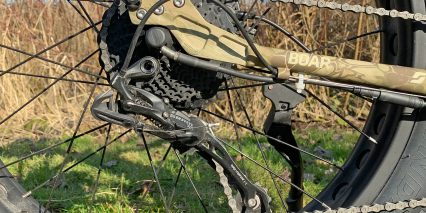 Surface 604 Boar Hunter Sram X5 Derailleur 9 Speed Drivetrain