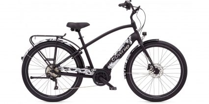 Electra Townie Path Go 10d Eq Stock High Step Matte Black
