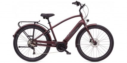 Electra Townie Path Go 10d Eq Stock High Step Matte Oxblood