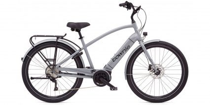 Electra Townie Path Go 10d Eq Stock High Step Nardo Grey