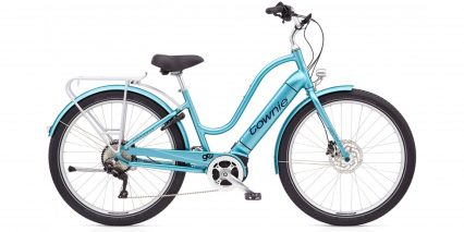 Electra Townie Path Go 10d Eq Stock Step Thru Aqua Metallic