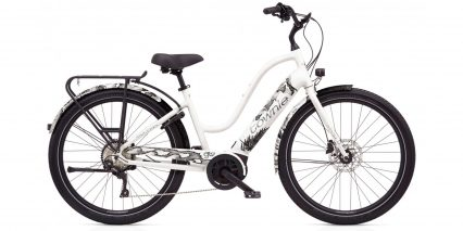 Electra Townie Path Go 10d Eq Stock Step Thru Pearl White