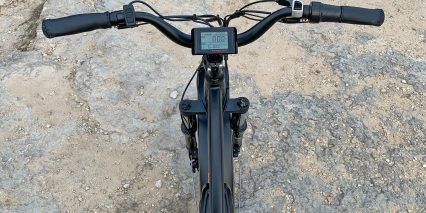 Eu Rad Power Bikes Radrhino 5 Mid Rise Handlebar With Lcd With Display Buttons And Shifter