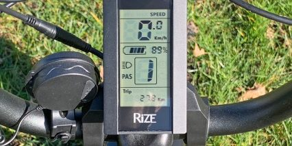 Rize Bikes Blade Branded Api Grayscale Lcd Display Optional Electronic Horn With Micro Usb