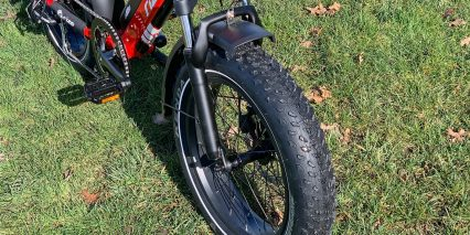 Rize Bikes Blade Mozo Fat 40 Spring Suspension Fork With Lockout