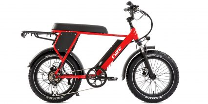 Rize Bikes Blade Stock High Step Red