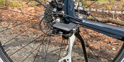 Trek Allant Plus 7 Rear Dropout Closeup Derailleur Guard Shifter Cable With Barrel Adjuster