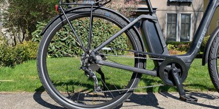Cube Town Sport Hybrid One 400 9 Speed Shimano Deore