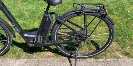 Cube Town Sport Hybrid One 400 Adjustable Kickstand Premium Rear Rack