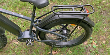 Igo Electric Core Extreme 2 0 Adjustable Kickstand Custom Rear Rack With Pannier Hangers