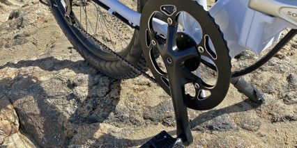 Sondors Smart Step 52 Tooth Steel Chainring With Alloy Bash Guard And 170mm Crank Arms