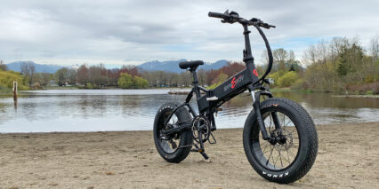 Synergy Kahuna Folding Fat Tire Full Suspension Ebike