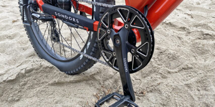 Sondors Mxs 48t Chainring With Alloy Guide Stainless Steel Chain