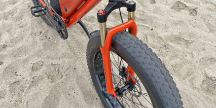 Sondors Xs Mozo Air Suspension Fork 120mm Travel 4.9in Fat Tires