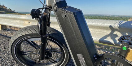 Juiced Bikes Cityscrambler Locking Removable Downtube Mounted Battery Pack
