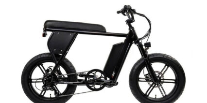 Juiced Bikes Cityscrambler Stock High Step Black
