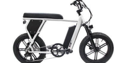 Juiced Bikes Cityscrambler Stock High Step Brushed Aluminum