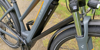 Cube Kathmandu Hybrid Pro 625 Downtube Integrated Ebike Battery