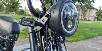 Juiced Bikes Hyperscorpion 2000 Lumen Motorcycle Headlight And Blinkers
