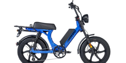 Juiced Bikes Hyperscorpion Stock Step Thru Electric Blue