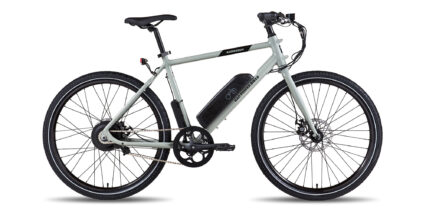 Rad Power Bikes Radmission 1 Stock High Step Gray