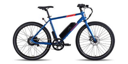 Rad Power Bikes Radmission 1 Stock High Step Steel Blue
