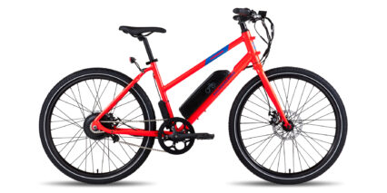 Rad Power Bikes Radmission 1 Stock Mid Step Red