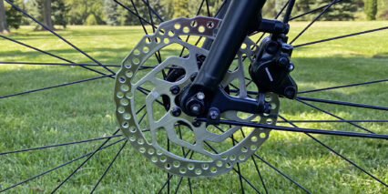 Shimano Hydraulic Disc Brake Front Caliper With 160 Mm Rotor