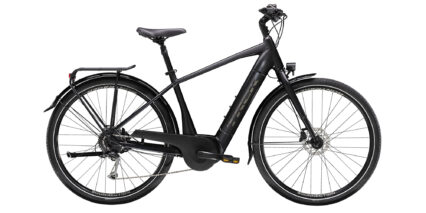 Trek Verve Plus 3 Stock High Step Trek Matte Black