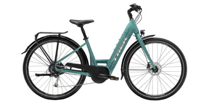 Trek Verve Plus 3 Stock Lowstep Teal