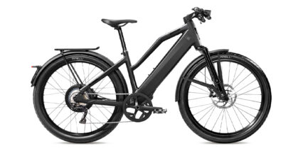 Stromer St3 Stock Mid Step Black