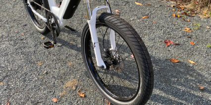 Electric Bike Company Model R 80mm Spring Suspension