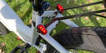 Electric Bike Company Model R Integrated 3 Led Rear Lights
