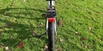Electric Bike Company Model R Optional Rear Rack With Integrated Light