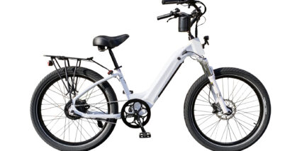 Electric Bike Company Model R Stock Step Thru White
