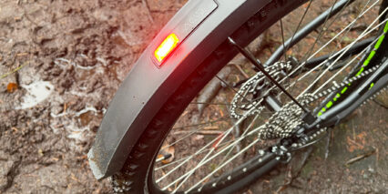 Cube Reaction Hybrid Performance 400 Allroad Four Led Rear Light Fender Integrated