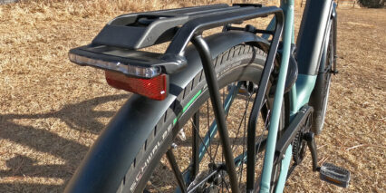 Gazelle Ultimate C8 Hmb Rear Rack Hermanns Integrated Taillight Bungee Top Clip