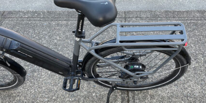 2021 Surface 604 Rook Integrated Paint Matched Rear Rack 50lb Max Adjustable Kickstand