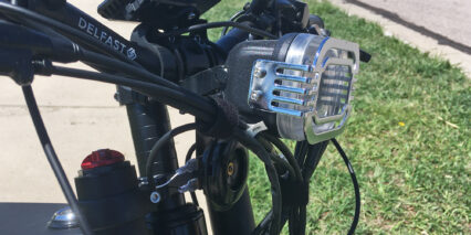 Delfast Top 30 Stem Mounted Dual Beam Headlight And Horn