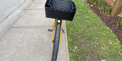 Specialized Turbo Como Sl 5 0 Front Tray Rack With Basket And Bungee Supernova Mini Ii Headlight