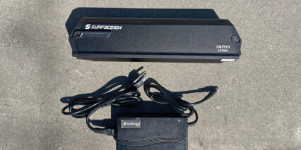 Surface 604 Quad 48 Volt 14 Amp Hour Ebike Battery And Charger