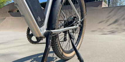 Surface 604 Quad Downtube Water Bottle Mount And Bottom Bracket Wires