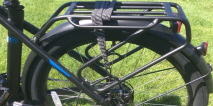 Magnum Voyager Rear Rack With Bungee And Pannier Mounts
