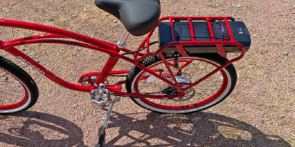 Pedego Comfort Cruiser Classic High Step Frame With Rear Rack