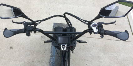 Spark Cycleworks Bandit Cockpit View Bmx Style Handlebars