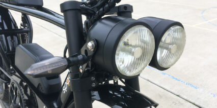 Spark Cycleworks Bandit Dual Beam Headlight And Right Blinker